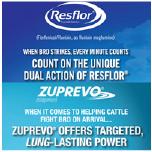 Zuprevo®/Resflor® Dosing Chart